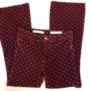 Anthropologie, pilcro and the letterpress pants